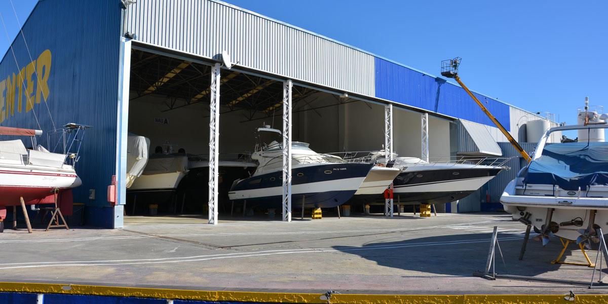 Hangar Instalaciones Nautic Center